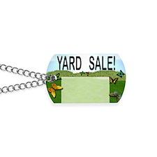 yardsalesign Dog Tags