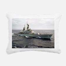 leahy cg large framed pr Rectangular Canvas Pillow