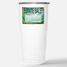 estatesalesign Stainless Steel Travel Mug