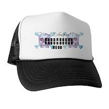 speak_slowly_1_mug Trucker Hat
