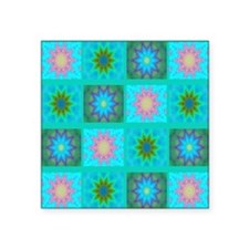 "stars Square Sticker 3"" x 3"""