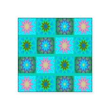 "stars Square Sticker 3"" x 3"""