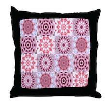 petalsquilt Throw Pillow