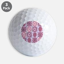 petalsquilt Golf Ball
