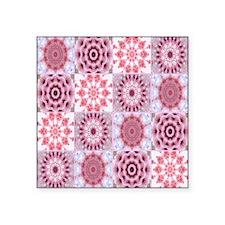 "petalsquilt Square Sticker 3"" x 3"""