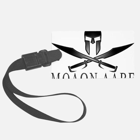 Spartan_Helmet__Swords_Crossed_O Luggage Tag