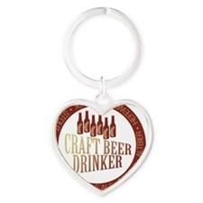 craftbrew1 Heart Keychain