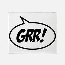 grr-bubble Throw Blanket