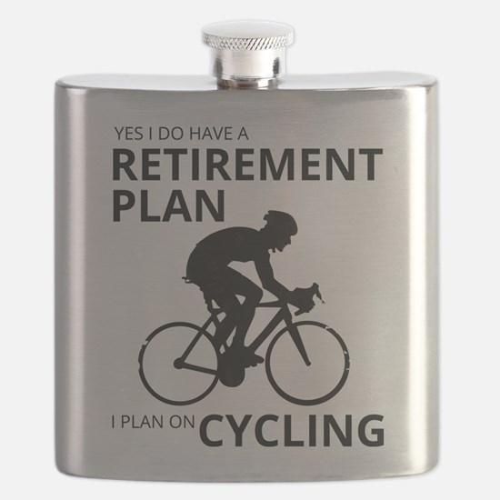 Cyclist Retirement Plan Flask