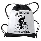 Bicycles Drawstring Bag