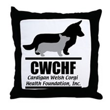 CWCHFshirtlogo Throw Pillow