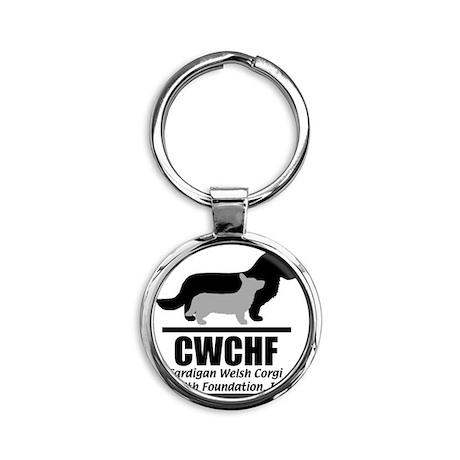 CWCHFshirtlogo Round Keychain