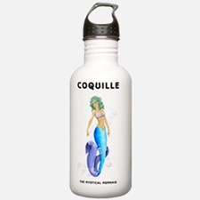 COQUILLE_WHITE_TSHIRTS Water Bottle
