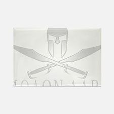Spartan_Helmet__Swords_Crossed_Ou Rectangle Magnet