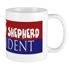 Australian Shepherd_ELECTION STICKER Mug