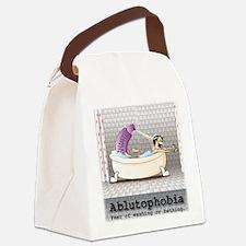 Ablutophobia Canvas Lunch Bag