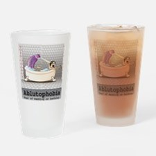 Ablutophobia Drinking Glass