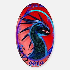 Black Dragon Year Of The Dragon Pos Decal