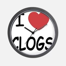CLOGS Wall Clock
