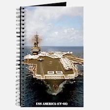 america cv large framed print Journal