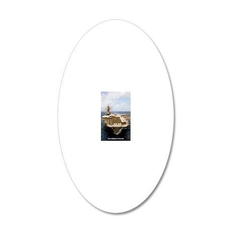america cva large framed pri 20x12 Oval Wall Decal