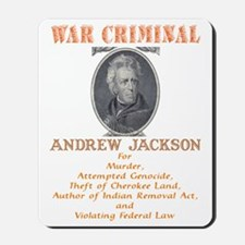 A Jackson - War Criminal Mousepad