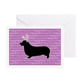 Corgi easter cards Greeting Cards (10 Pack)