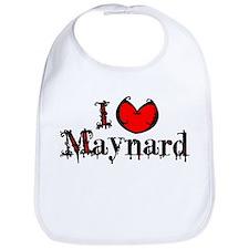 I Heart Maynard Bib