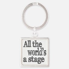 all the world light Square Keychain