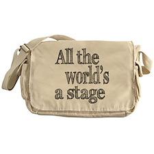 all the world light Messenger Bag