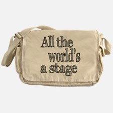 all the world light Messenger Bag