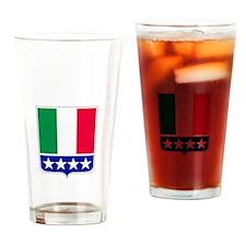 Italian Pride Drinking Glass