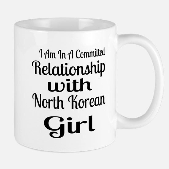 I Am In Relationship With North Mug