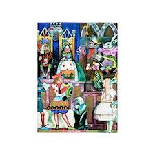 Alice in Wonderland-1 5'x7'Area Rug
