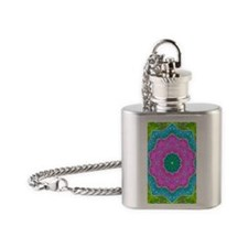 lacyjournal Flask Necklace
