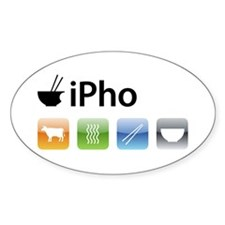 iPho Oval Decal