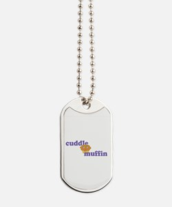 Cuddle Muffin Dog Tags