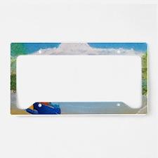 Serene Sulawesi b shirt License Plate Holder
