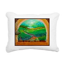 window-calendar Rectangular Canvas Pillow