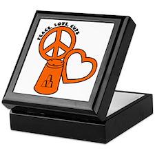 orange PL Cups Keepsake Box