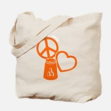 orange 2 PL Cups Tote Bag