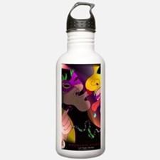 A Kiss at Mardi Gras w Water Bottle
