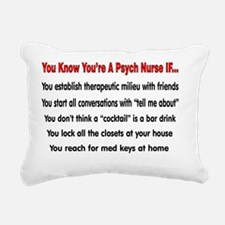 You know youre a PSYCH n Rectangular Canvas Pillow
