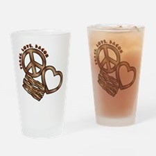 browns, PL Bacon Drinking Glass