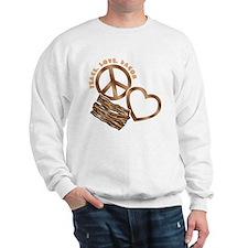 browns, wh PL Bacon Sweatshirt