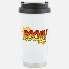 boom-tshirt Stainless Steel Travel Mug