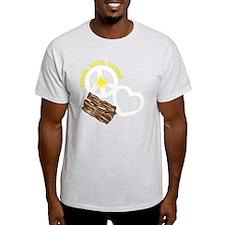 white, wh PL Bacon T-Shirt