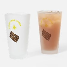 white, wh PL Bacon Drinking Glass