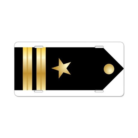 Lieutenant Board Aluminum License Plate