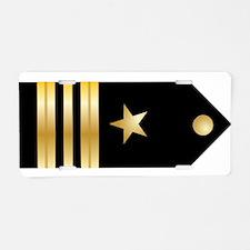 Lt. Commander Board Aluminum License Plate